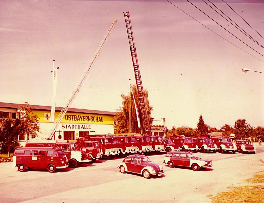1973 der Fuhrpark